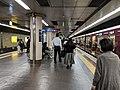 Hankyu Karasuma Station platform 2018-10-16.jpg