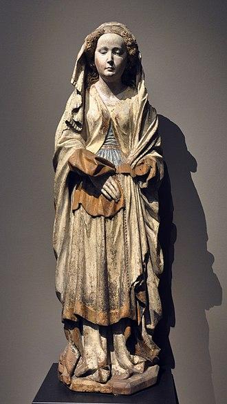 Hans Multscher - Image: Hans Multscher Maria Magdalena Liebieghaus 1039