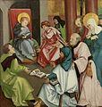 Hans Schäufelein - Christus im Tempel (Shipley Art Gallery).jpg