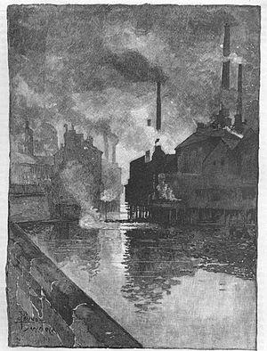 """Ebenezer Elliott - Elliott's """"cloud-rolling Sheffield"""""""