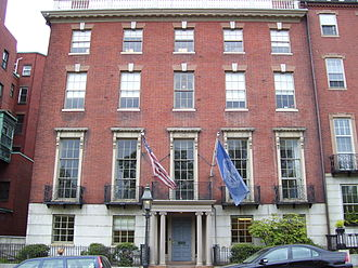 Harrison Gray Otis House - 3rd Harrison Gray Otis House on Beacon Street