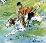 "Illustration from ""The Fox's Frolic"""