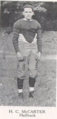Harry McCarter 1917 Pitt Panther halfback.png