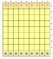 Hasami Shogi 9x9 init config.png
