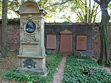 Goltermanns Grab auf dem Frankfurter Hauptfriedhof (Quelle: Wikimedia)
