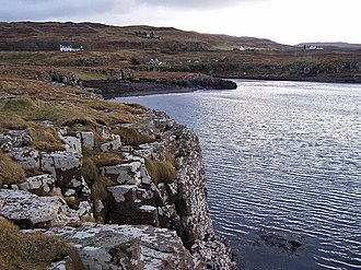 Battle of Glendale (Skye) - The head of Loch Pooltiel, where the chief of the MacLeods of Harris and Dunvegan landed on Skye and joined forces with the MacLeods of Lewis.