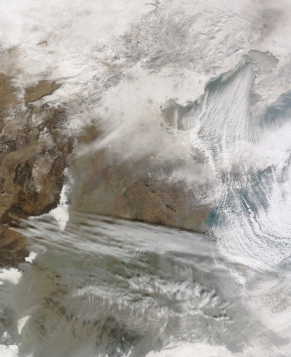 Heavy Snow in Eastern China
