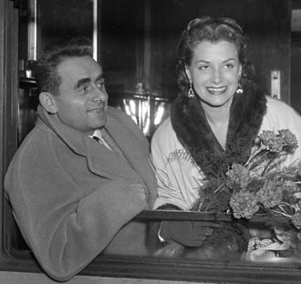 1953 Cannes Film Festival - Image: Henri Georges and Vera Clouzot 1953