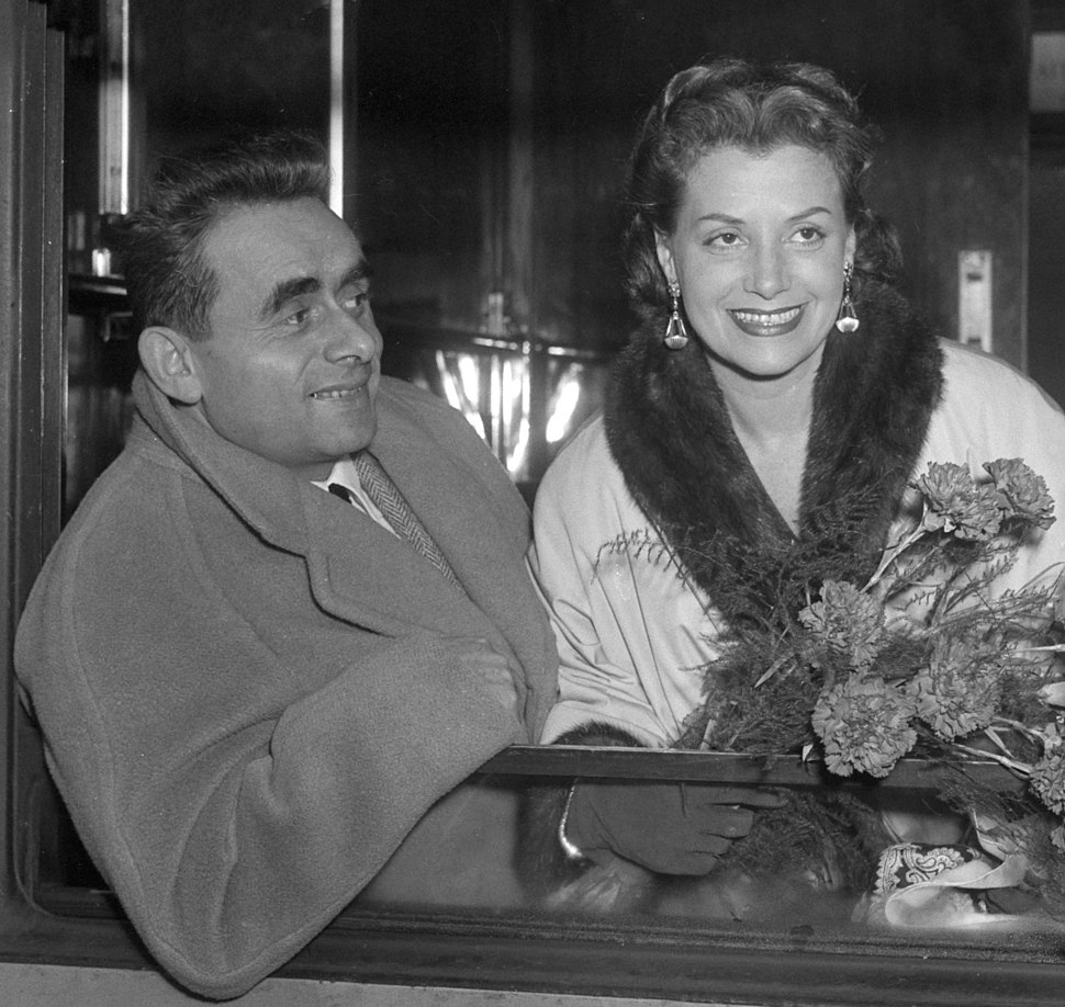 Henri-Georges and Vera Clouzot 1953