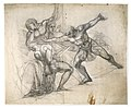 Henry Fuseli, The Death of Brutus, a charcoal drawing with white chalk (c.1785).jpg