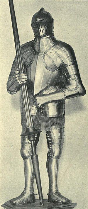Henry Lee of Ditchley - Suit of armour belonging to Sir Henry Lee