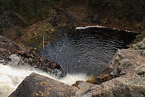 Hepoköngäs waterfall from above.JPG