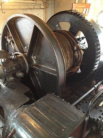 Hercules (1907) - Image: Hercules towing machine.agr