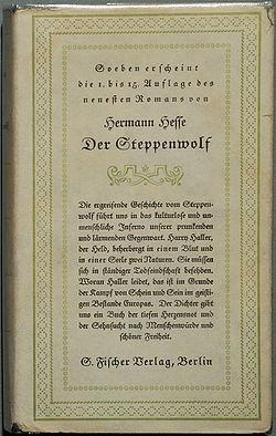Hermann Hesse Der Steppenwolf 1927.jpg