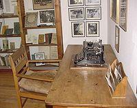 Escritorio de Hesse, en el Museo Gaienhofen