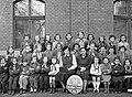 Hermina (Május 1.) út 9-15. Fővárosi Általános Iskola, csoportkép egy harmadikos osztályról. Fortepan 18557.jpg