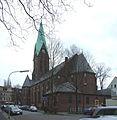 Herne, St. Laurentius aus der Karlstraße gesehen.jpg