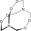 Hexamethylene triperoxide diamine.png