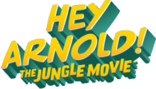 Description de l'image Hey Arnold! The Jungle Movie logo.png.