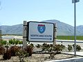 Highway directional sign in Wheeler Ridge, California, 2011.jpg