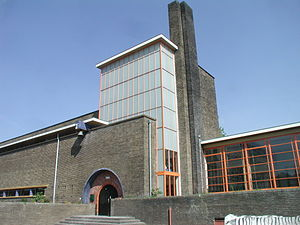 Willem Marinus Dudok - Image: Hilversum Dudok School front