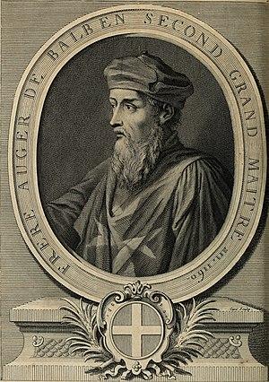 Auger de Balben - Image: Histoire des Chevaliers Hospitaliers de S. Jean de Jerusalem appellez depuis les Chevaliers de Rhodes, et aujourd'hui les Chevaliers de Malthe (1726) (14766124442)
