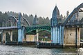 Historic Siuslaw River Bridge in Florence, Oregon (26634108538).jpg