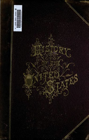 File:History of the United States of America, Spencer, v1.djvu
