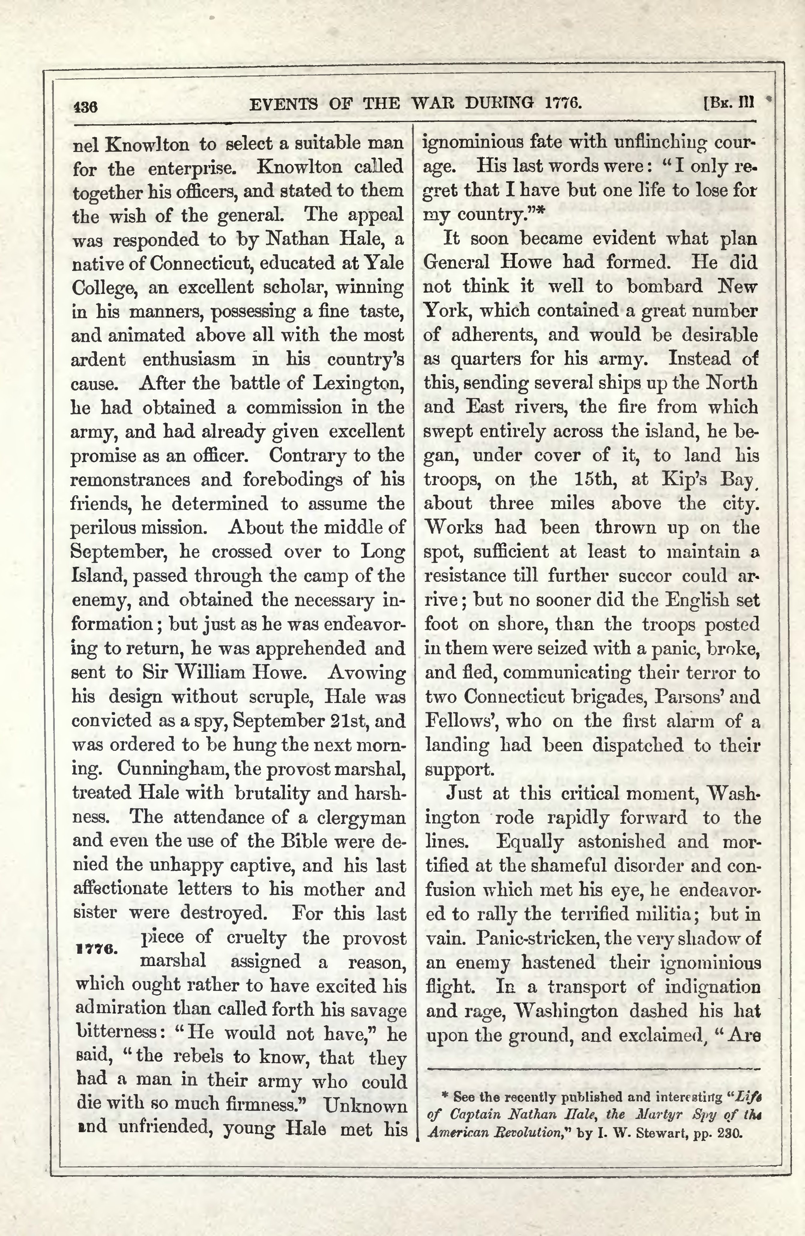 life of nathan hale and his contributions to america From the diary of enoch hale, nathan's  was named in his honor the nathan hale ancient  william m nathan hale: the life and death of america's first.