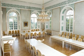 University of Hohenheim - Green Room within the Palace
