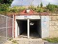 Hollis LIRR Station; 193rd St-Dead End Close-Up.JPG