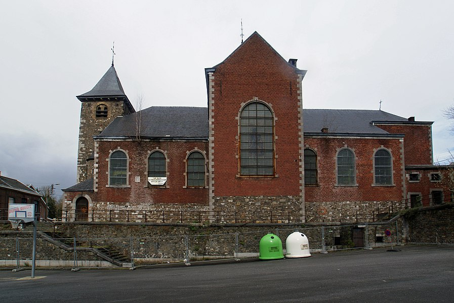 Grâce-Hollogne (Belgium): Saint Peter's Church