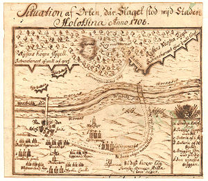 Battle of Holowczyn - Swedish plan on the battle