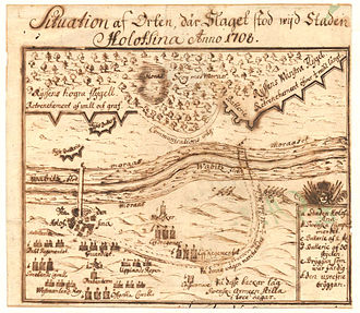 1708 in Sweden - Swedish plan on the battle