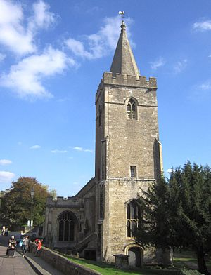 Bradford on Avon - Holy Trinity church