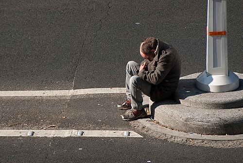 Homeless in campo formio