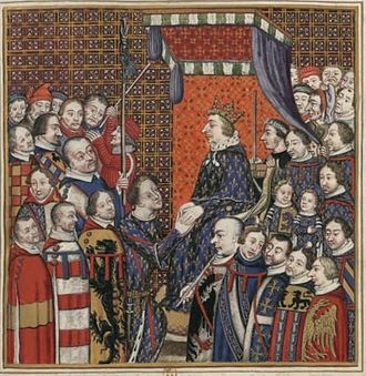 Hugh II, Count of Blois - second from right.