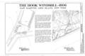 Hook Windmill, North Main Street at Pantigo Road, East Hampton, Suffolk County, NY HAER NY,52-HAMTE,2- (sheet 1 of 6).png
