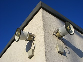 Emergency communication system - Audio public address speakers