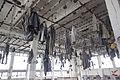 Hornický skanzen Mayrau, řetízkové šatny, pohled.jpg