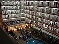 Hotel Hélios - Vue plongeante à partir de l'hotel Garbi - Lloret de Mar, Espagne - 2006 - panoramio.jpg