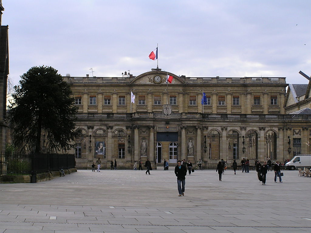 File hotel de ville wikimedia commons for Hotel original bordeaux
