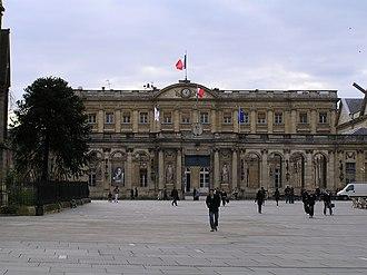 Palais Rohan, Bordeaux - Image: Hotel de Ville Bordeaux