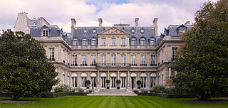 Hôtel de Pontalba Official residence of the United States Ambassador to France, located in Paris