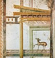 House of the Prince of Naples Pompeii Plate 167 Exedra East Wall Closeup MH.jpg