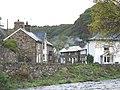 Houses in Ffordd Gwynant viewed across Afon Colwyn - geograph.org.uk - 1022800.jpg