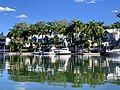 Houses in Sanctuary Cove seen from Coomera River, Queensland 17.jpg