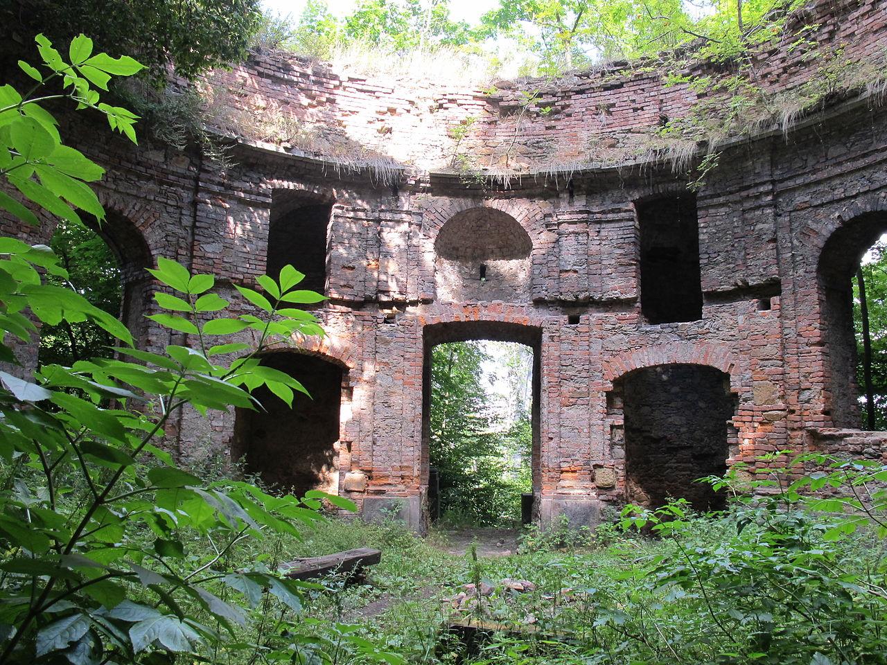 Vnitřní prostor kaple