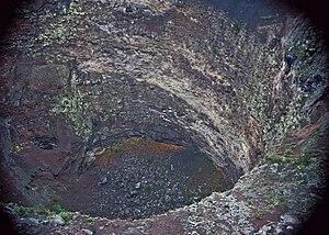 Hualālai - Na One pit crater of Hualālai volcano