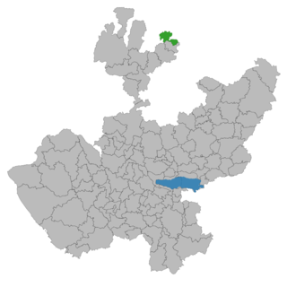 Huejúcar Municipality and city in Jalisco, Mexico